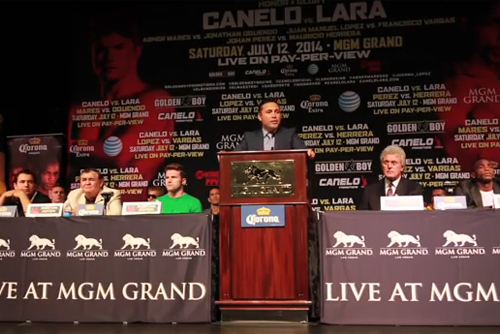 Canelo vs. Lara: Behind the Scenes - Thursday June 10, 2014