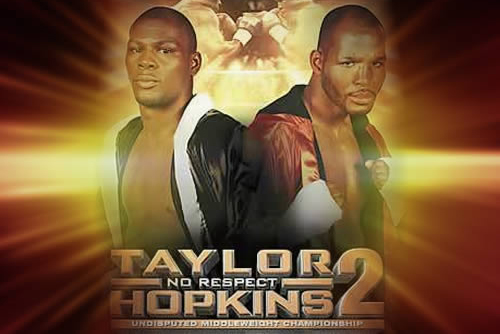 Countdown to Hopkins vs. Taylor 2